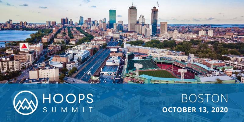 HOOPS Summit 2020 Boston Banner