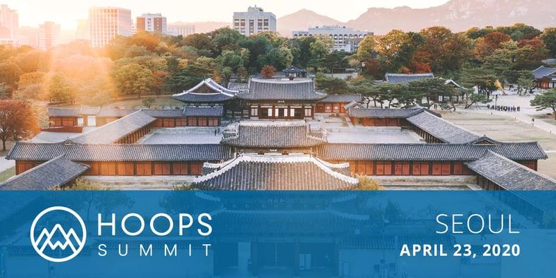 HOOPS Summit 2020 Seoul banner final